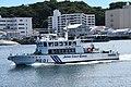 JCG Kinugasa(MS-01) left front view at Port of Yokosuka July 26, 2019 02.jpg