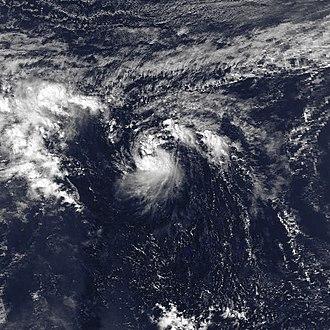 1981 Pacific typhoon season - Image: JEFF 1981 nov 23 0442Z