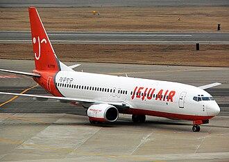 Jeju Air - A Jeju Air Boeing 737-800 in 2014.