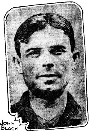 Jack Black (author) - Image of Black that appeared in the San Francisco Call in 1912