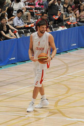 Jackson Vroman - Vroman with Lebanon against Japan