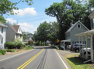 North Hanover Township, New Jersey - Jacobstown, a settlement within the township