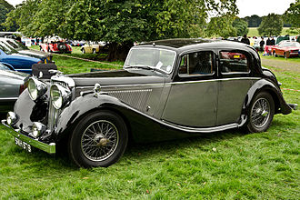 Jaguar Mark IV - Jaguar 2½ litre sports saloon 1947