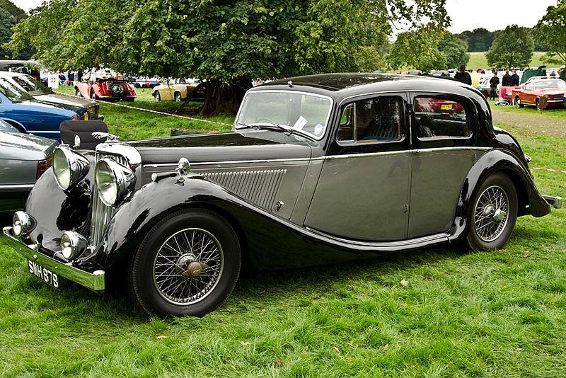 Datei:Jaguar Mk IV 2.5 Litre (1947) (8051567557).jpg