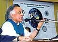Jairam Ramesh addressing at an Interactive meeting with respective of IIT's on Environment, Energy and Climate Change Education & Research, organised by the IIT, in Mumbai, on March 13, 2010.jpg