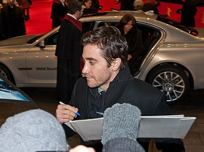 Gyllenhaal at the 62nd Berlin International Film Festival, 2012 Jake Gyllenhaal (Berlinale 2012) 2 (cropped).jpg