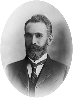 James Clark (businessman) - James Clark in the 1880s