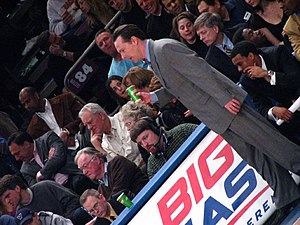 Jamie Dixon - Jamie Dixon coaching during the Big East Tournament
