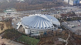 Jamsil Students Gymnasium Indoor sporting arena located in Seoul, South Korea
