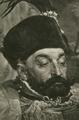 Jan Matejko - Batory pod Pskowem II. Stefan Batory.png