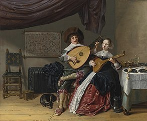 Self-Portrait with Judith Leyster: Duet
