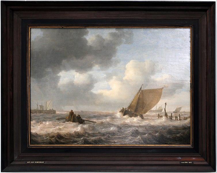File:Jan porcellis, estuario con tempo burrascoso, 1630 ca.jpg