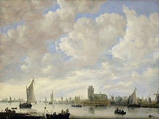 View of the Merwede off Dordrecht
