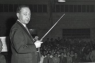 Jascha Heifetz - In Be'er Sheba, Israel, 1953