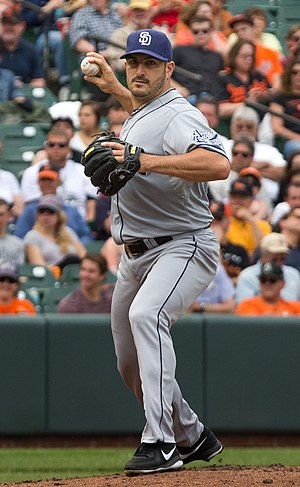 Jason Marquis - Marquis with the San Diego Padres