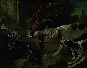 Hounds with Wild-Fowl and Game