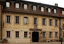 Wohnhaus in Bayreuth 1808–1811 (Friedrichstraße 10) (Quelle: Wikimedia)