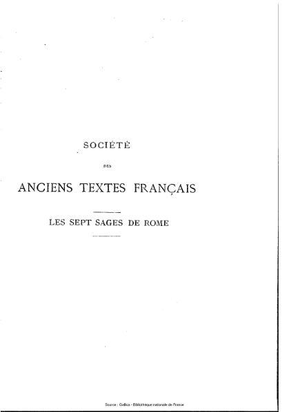 File:Jean de Hauteseille - Les Sept Sages de Rome.djvu