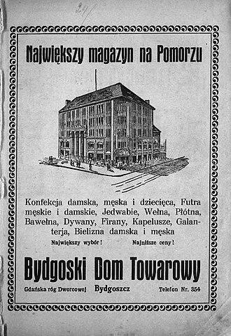 Jedynak - Image: Jedynak advert 1928