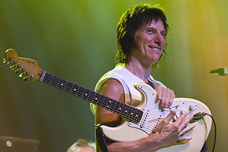 Grammy Award for Best Rock Instrumental Performance - Six-time award winner Jeff Beck performing in Sydney, Australia in 2009