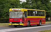 Jelcz 120M owned by MPK Wroclaw (Poland, June 2012).jpg