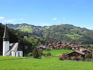 Jenaz Municipality of Switzerland in Graubünden