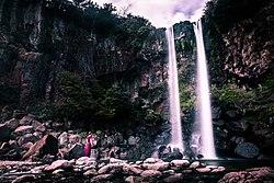 Jeongbang Falls Jeju South Korea Travel Photography (252441113).jpeg