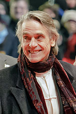 Photo o Jeremy Irons at the Berlin Internaitional Film Festival