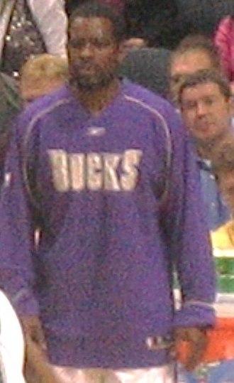 Jermaine Jackson (basketball) - Jermaine Jackson in 2005 with the Milwaukee Bucks.