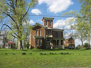 Fulton, Kentucky - Jesse Whitesell House