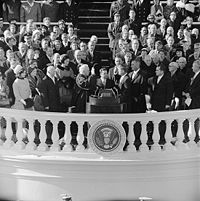 Jan. 20: John F. Kennedy inaugurated as President of the U.S.