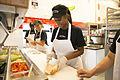 Jimmy John employees having fun making sandwiches.jpg