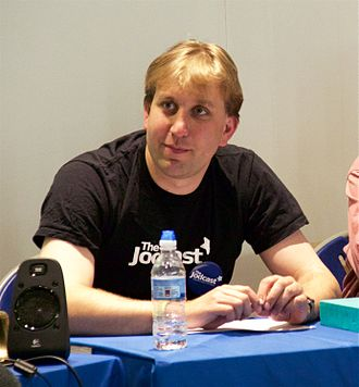 Chris Lintott - Chris Lintott at Jodcast Live in 2016