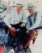 Joe Bowman and Robert Duvall Lonesome Dove