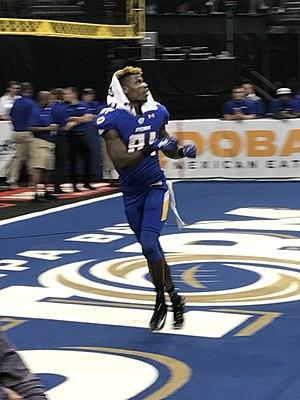 Joe Hills (American football) - Hills in 2017