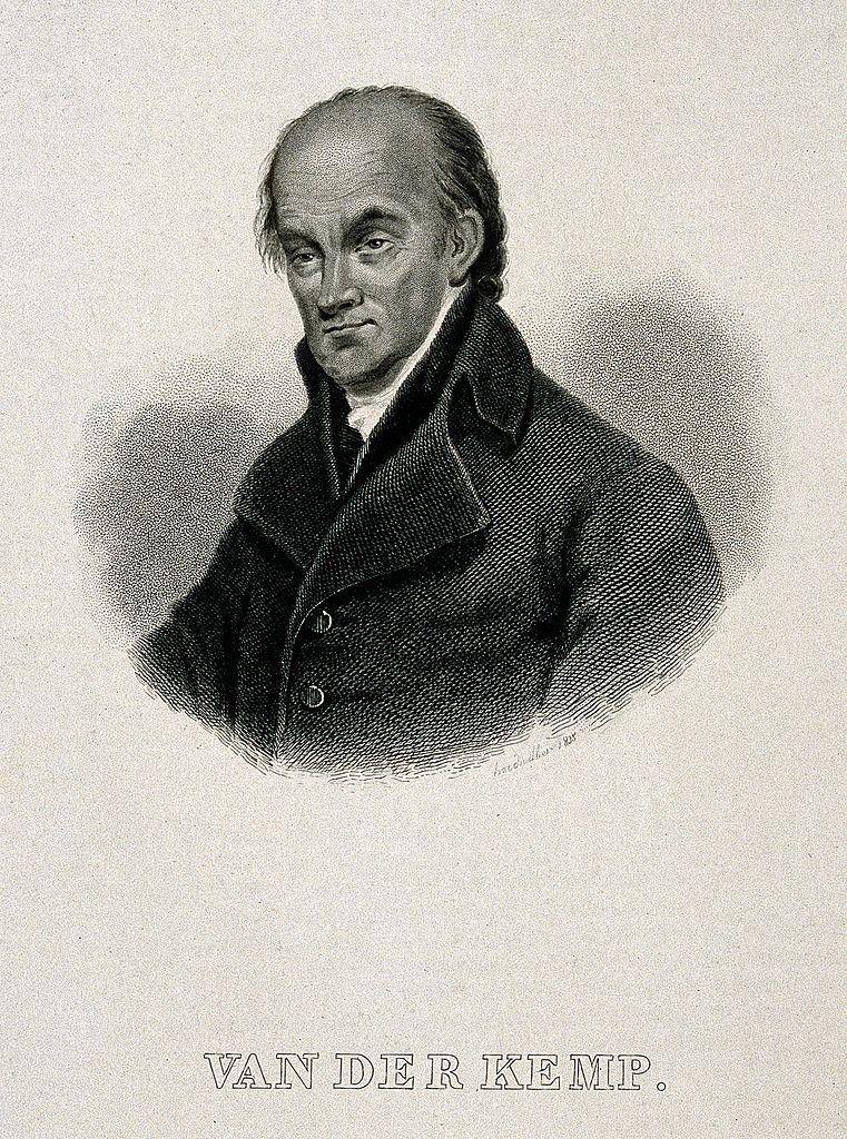 Resultado de imagem para Johannes Theodorus Vanderkemp