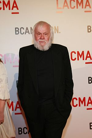 John Baldessari arrives at LACMA's Gala Openin...
