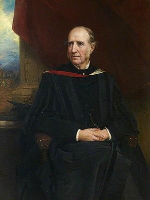 John Campbell Shairp - Portrait of Shairp by Robert Inerarity Herdman (1886)