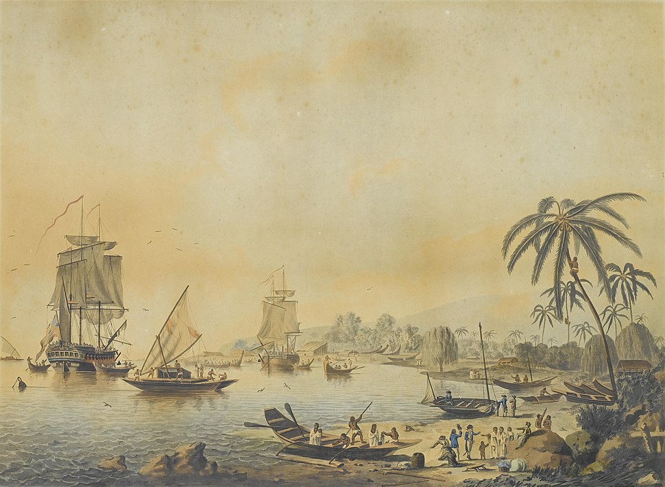 John Cleveley the Younger, Views of the South Seas (No. 3 of 4)
