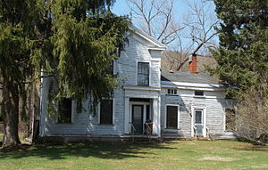 National Register of Historic Places listings in Cattaraugus County, New York - Image: John J. Aiken House Apr 13