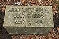 John Lourie Beveridge's grave at Rosehill Cemetery, Chicago.jpg