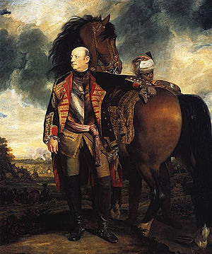 John Manners, Marquess of Granby - Granby painted by Sir Joshua Reynolds, 1763-65.