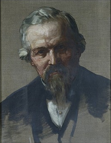 Portrait of John Marshall by Alphonse Legros