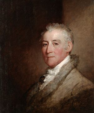 John Trumbull - John Trumbull, painted by Gilbert Stuart, 1818
