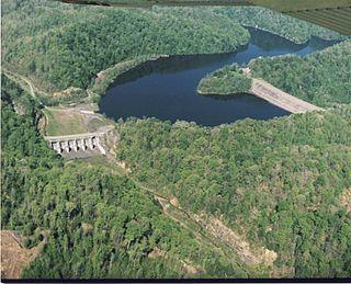 John W. Flannagan Dam Dam in Dickenson County, Virginia