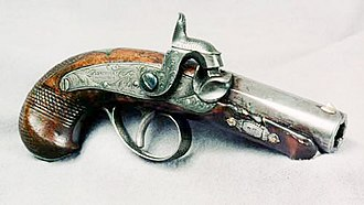 Henry Deringer - The Henry Deringer pistol used by John Wilkes Booth.