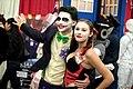 Joker & Harley Quinn cosplayers (16027329702).jpg