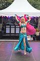 Jonge blonde buikdanseres in Spijkenisse.jpg