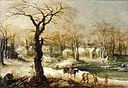 Joos de Momper the younger - Winter Landscape - Walters 37363.jpg
