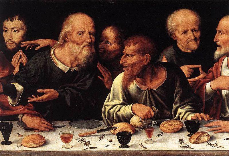 File:Joos van Cleve - Altarpiece of the Lamentation (detail) - WGA5044.jpg